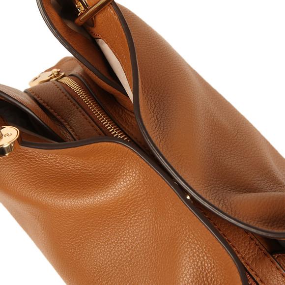 Michael Kors Womens Brown Raven Large Shoulder Tote Bag main image