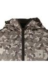 Eleven Degrees Mens Grey Overhead Fishtail Jacket