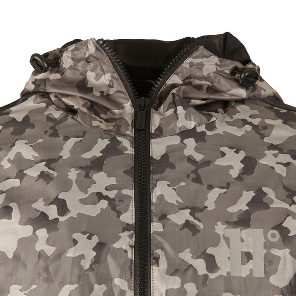 Eleven Degrees Mens Grey Overhead Fishtail Jacket main image