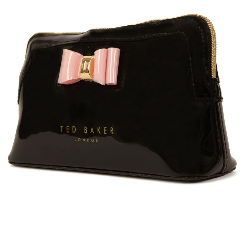 Julis Bow Triangle Make Up Bag main image