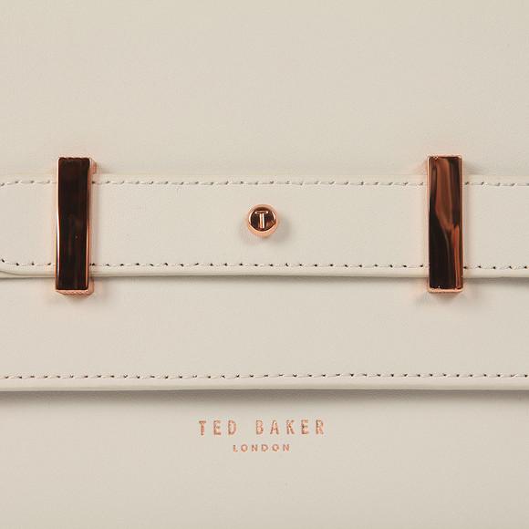 Ted Baker Womens Grey Tursi Studded Edge Cross Body Bag main image