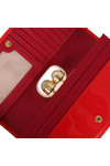Ted Baker Womens Red Kattia Crystal Pearl Bobble Matinee Purse