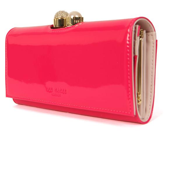 Ted Baker Womens Pink Kattia Crystal Pearl Bobble Matinee Purse main image