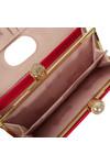 Ted Baker Womens Pink Kattia Crystal Pearl Bobble Matinee Purse