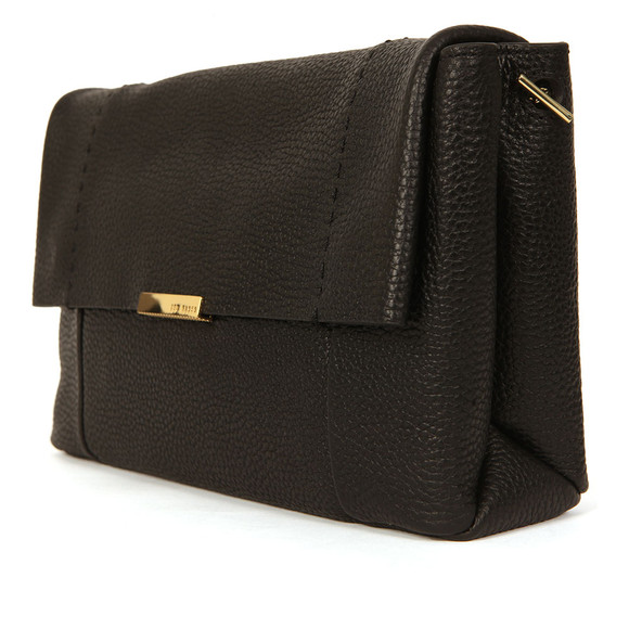 Ted Baker Womens Black Parson Unlined Soft Leather Xbody  Bag main image