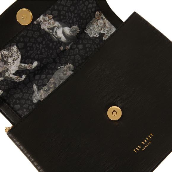 Ted Baker Womens Black Leiza Looped Bow Cross Body Bag main image