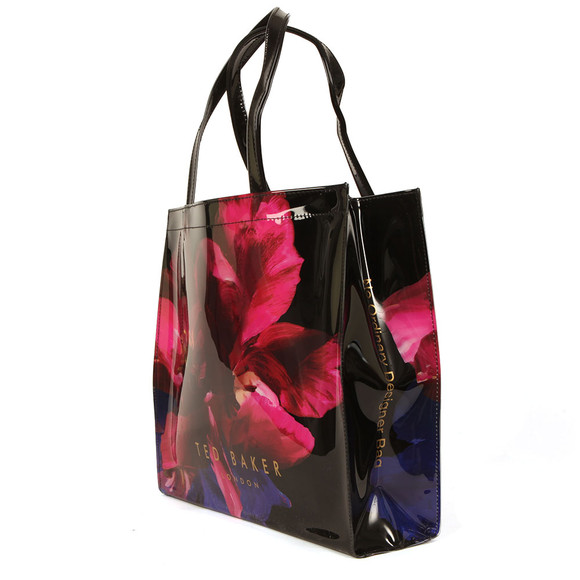 Ted Baker Womens Black Amycon Impressionist Bloom Large Icon Bag main image
