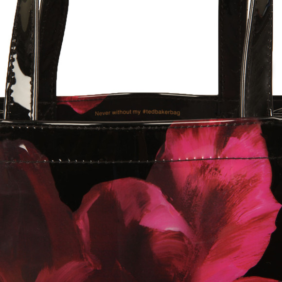 Ted Baker Womens Black Elmacon Impressionist Bloom Small Icon Bag main image
