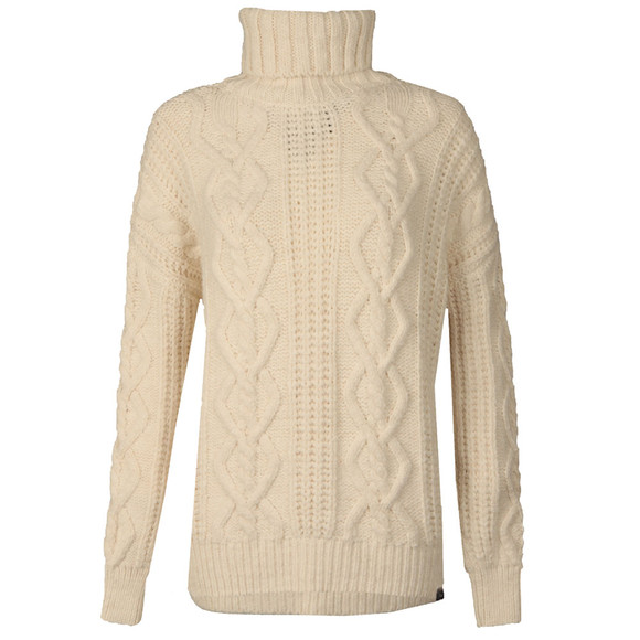 Superdry Womens Off-white Esmay Cable Knit main image