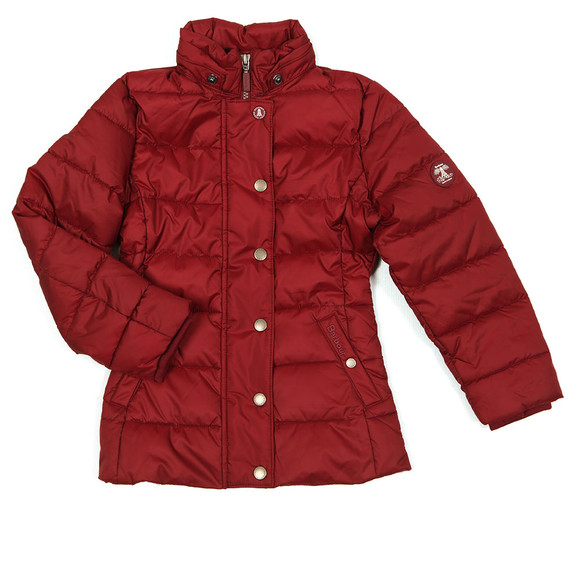Barbour Lifestyle Girls Red Girls Shipper Quilt main image