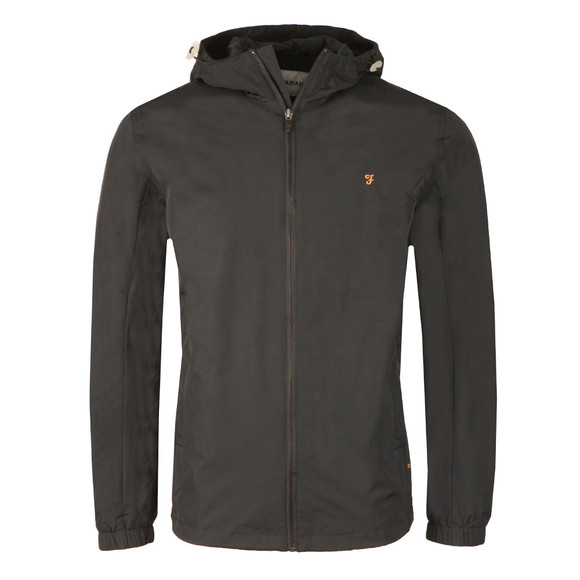 Farah Mens Black Newbern Hooded Jacket main image