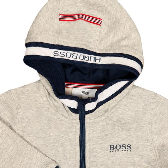 Boss Boys Grey Baby J05588 Hoody main image
