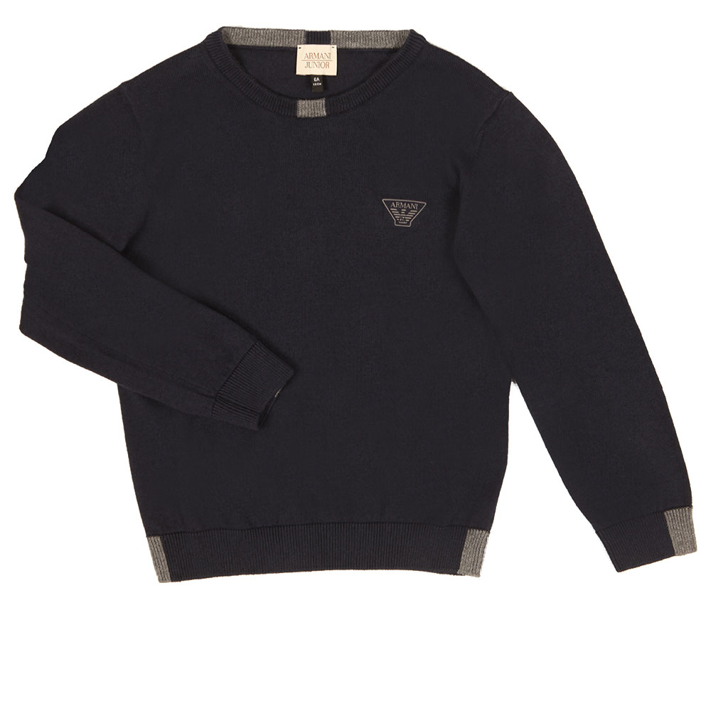 Logo Knitted Crew Jumper main image