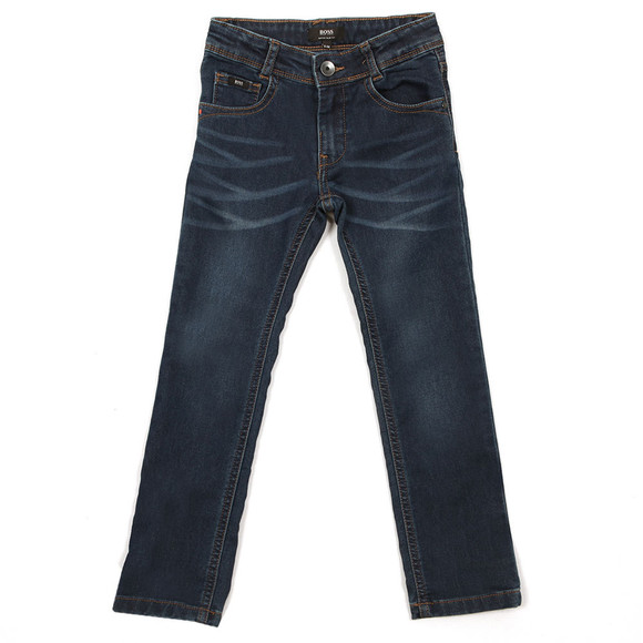 Boss Boys Blue Super Slim Fit Jean main image