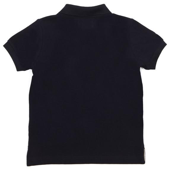 Hackett Boys Blue Solid Polo Shirt main image
