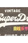 Superdry Womens Black Rainbow Pop Shirt Shop Entry T Shirt