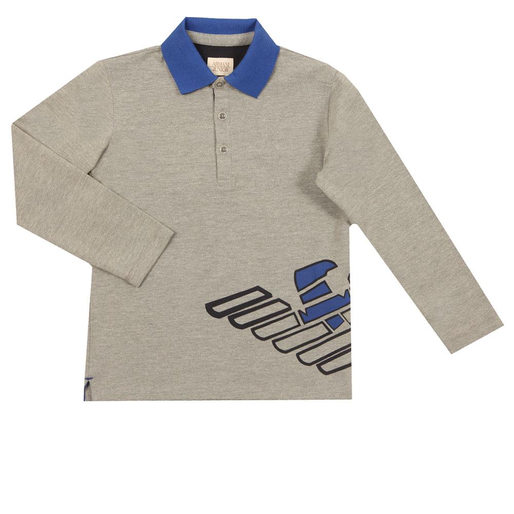 6Y4F08 Long Sleeve Polo Shirt