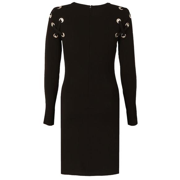 Michael Kors Womens Black MJ Lacing Dress main image