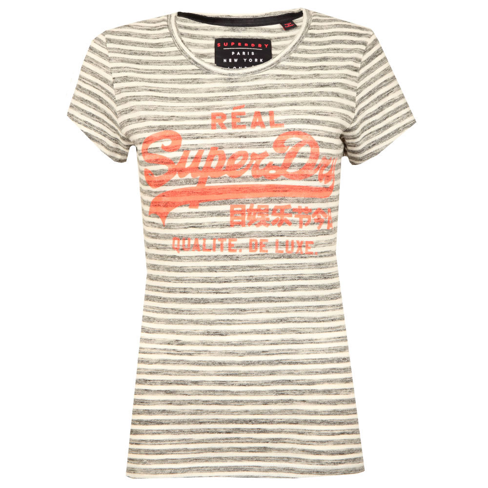 Vintage Logo Stripe Entry Tee main image
