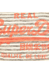 Superdry Womens Grey Vintage Logo Stripe Entry Tee
