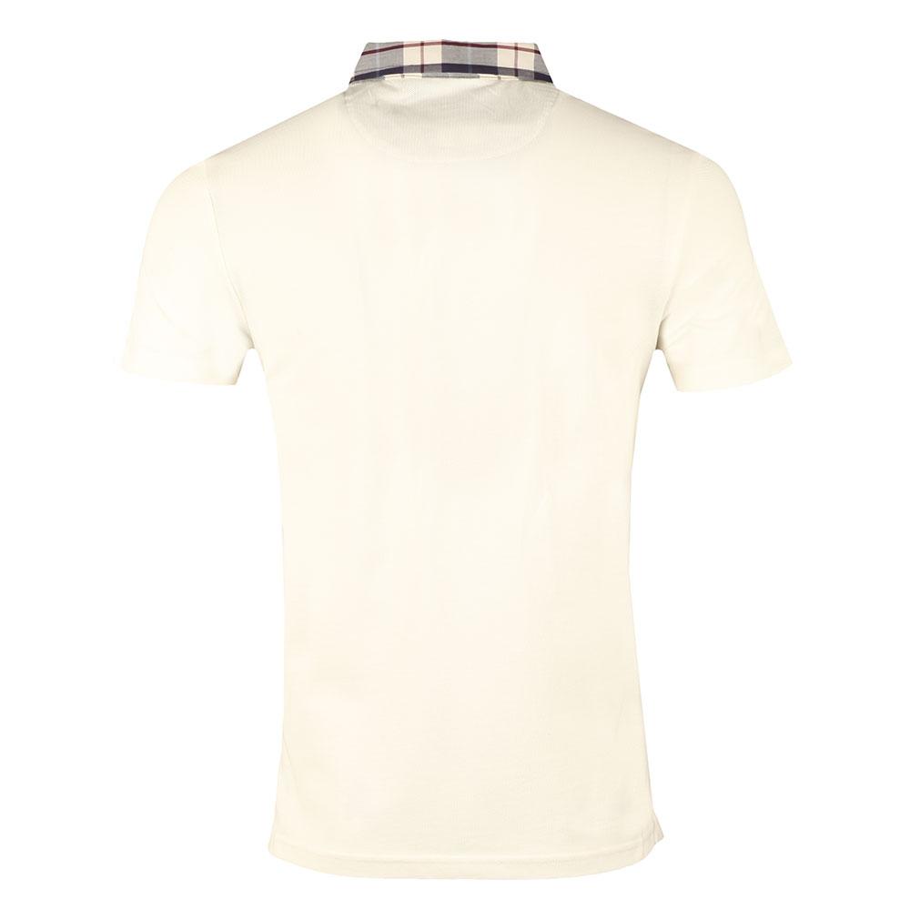 Check Woven Collar Polo Shirt main image