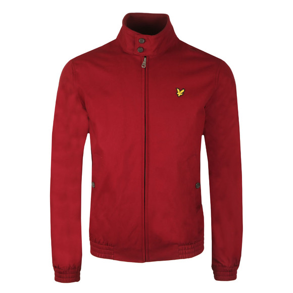 Lyle and Scott Mens Red Harrington Jacket main image