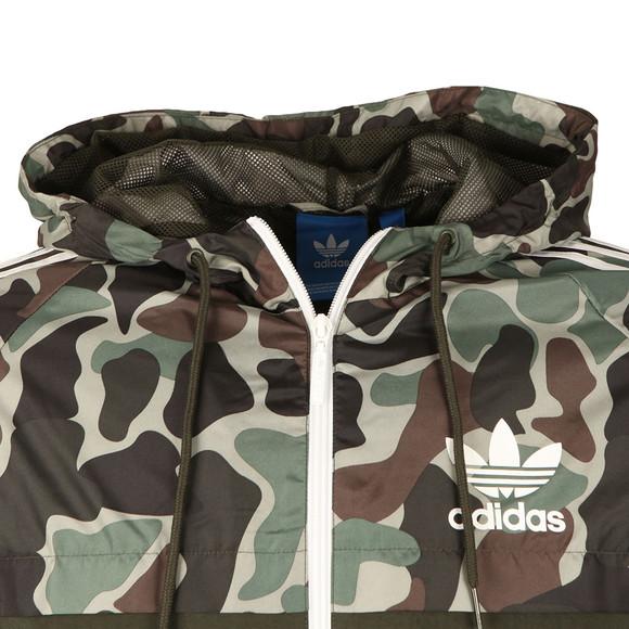 Adidas Originals Mens Grey Camo Rev Windbreaker main image