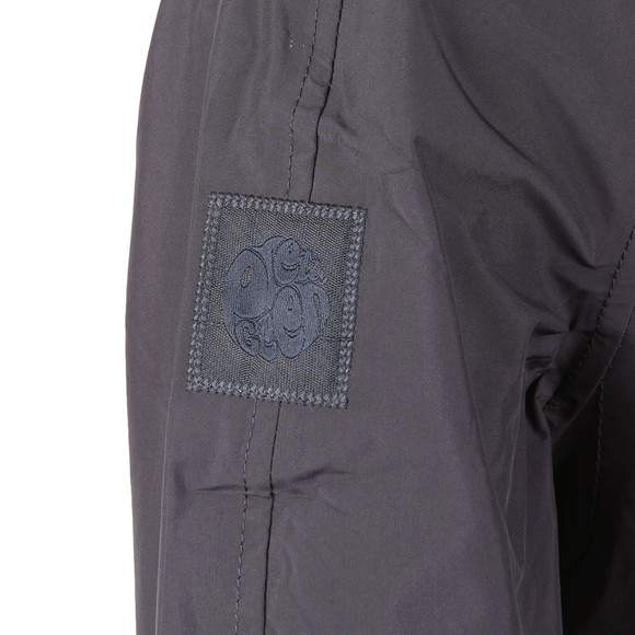 Pretty Green Mens Blue Water Resistant Overhead Hooded Jacket main image