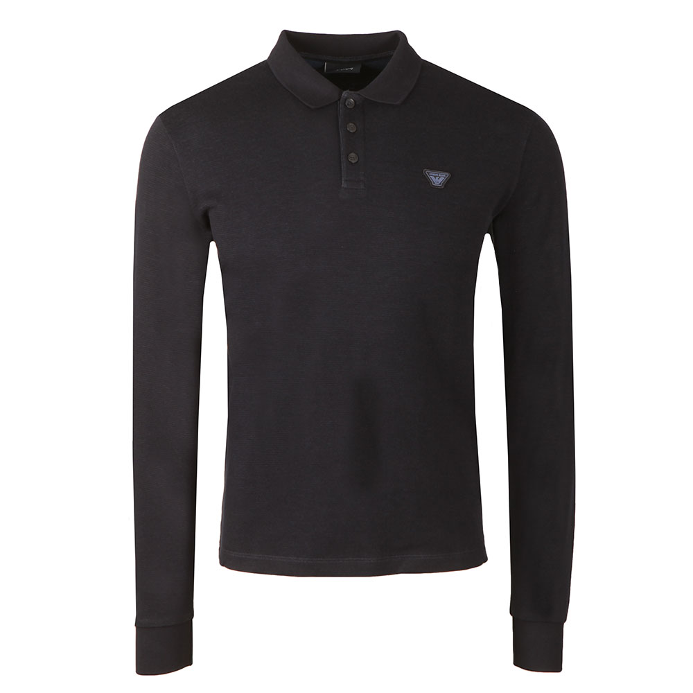 L/S Jersey Polo Shirt main image