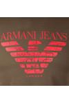 Armani Jeans Mens Green 6Y6T47 Logo T-Shirt