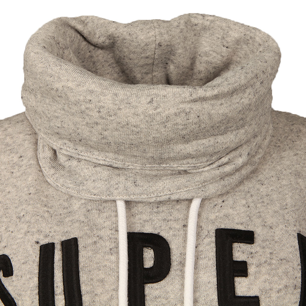 Applique Funnel Hoody main image