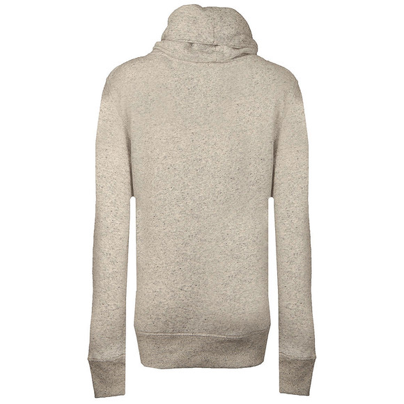 Superdry Womens Grey Applique Funnel Hoody main image