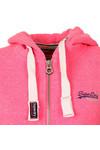 Superdry Womens Blizzard Pink Snowy Orange Label Primary Zip Hoody