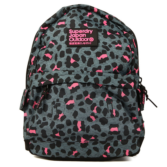 Superdry Womens Grey Print Edition Montana Backpack main image