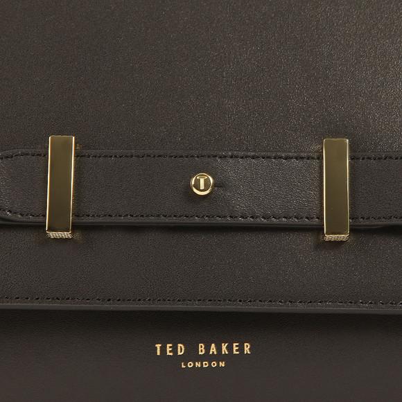 Ted Baker Womens Black Tursi Studded Edge Cross Body Bag main image