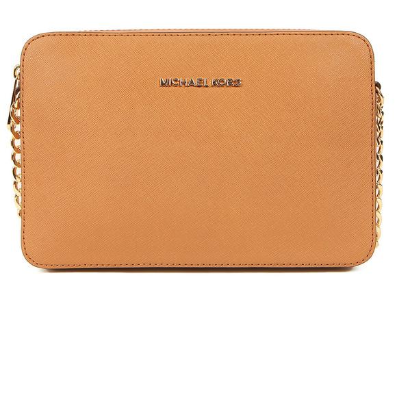 Michael Kors Womens Brown Jet Set Travel Shoulder Bag main image