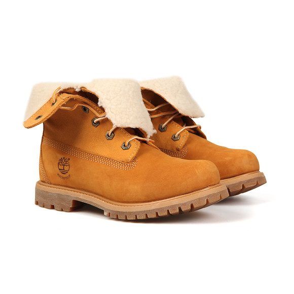 Timberland Womens Beige Authentic Teddy Fleece Boot main image