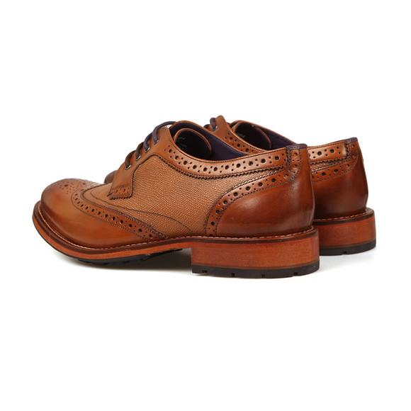 Ted Baker Mens Brown Cassiuss 4 Brogue Shoe main image