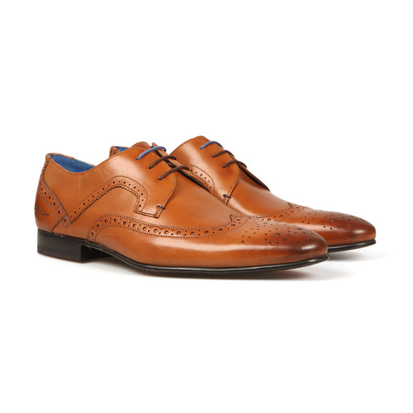 Ted Baker Mens Brown Oakke Brogue Shoe main image