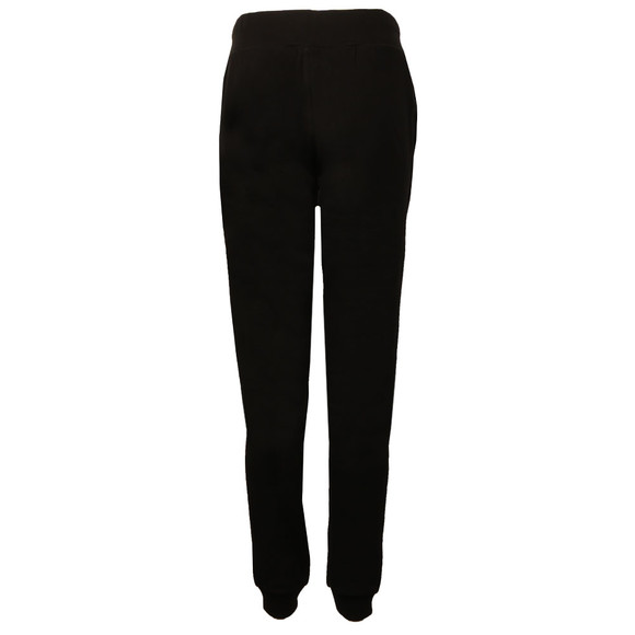 Superdry Womens Black Applique Slim Jogger main image