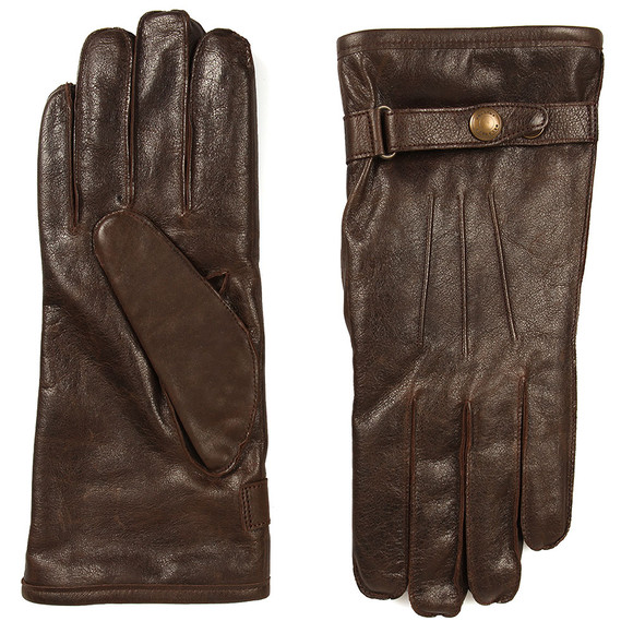 Belstaff Mens Brown Heyford Leather Gloves main image