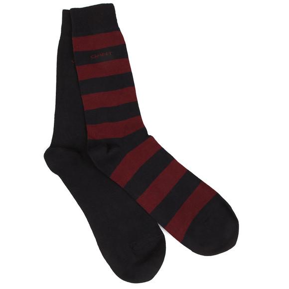 Gant Mens Red 2-Pack Bar Stripe Socks main image