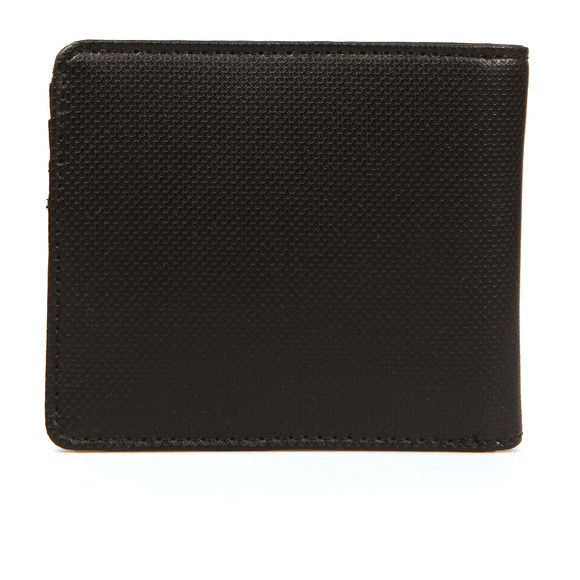 Fred Perry Mens Black Texture Billfold Wallet main image