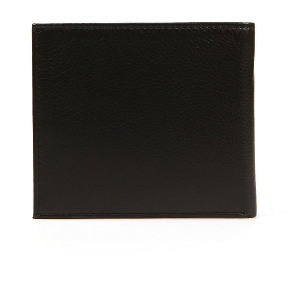 Ted Baker Mens Black Core Bi-fold Leather Wallet main image