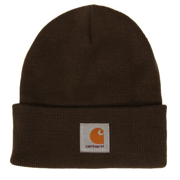 Carhartt Mens Green Short Watch Hat main image