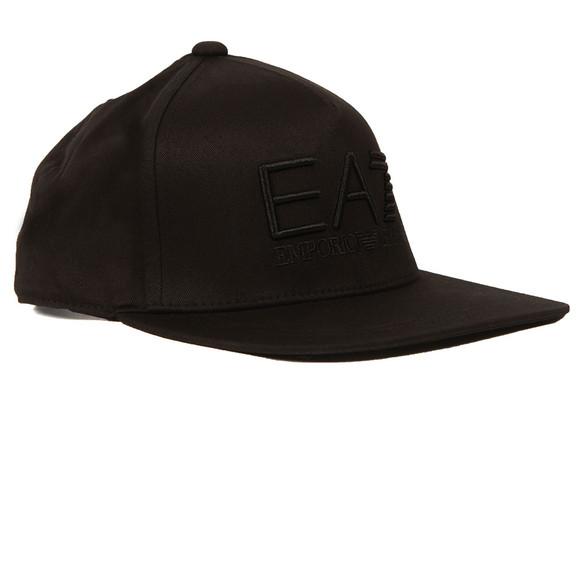 EA7 Emporio Armani Mens Black Train Visibility Rapper Cap main image