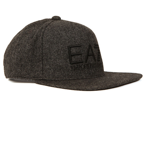 EA7 Emporio Armani Mens Grey Train Visibility Rapper Cap main image
