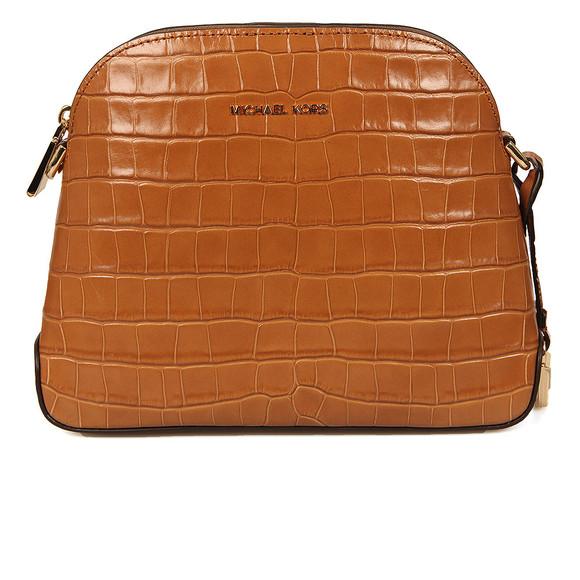 Michael Kors Womens Brown Mercer Mid Dome Messenger Bag main image