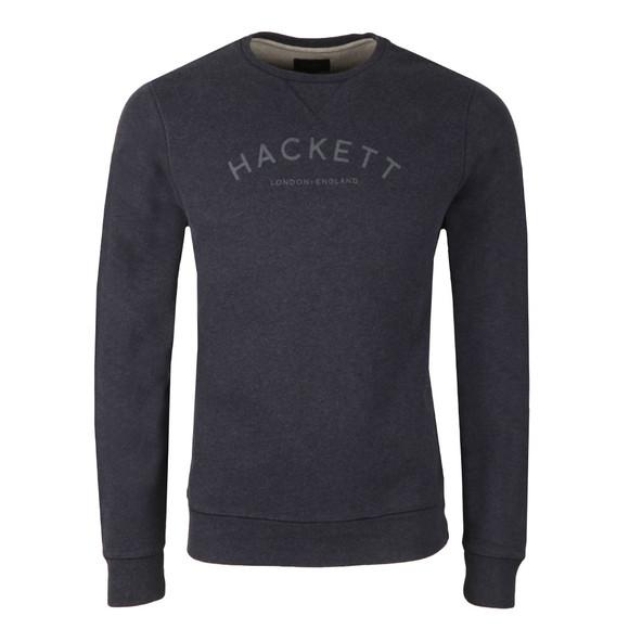 Hackett Mens Blue MR Crew Sweat main image