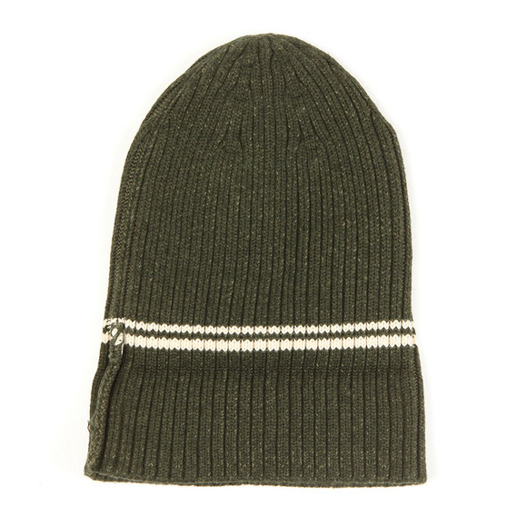 Fred Perry Mens Green 2 Tone Beanie main image